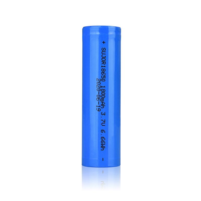 3.7V 18650 1800mAh锂离子电池