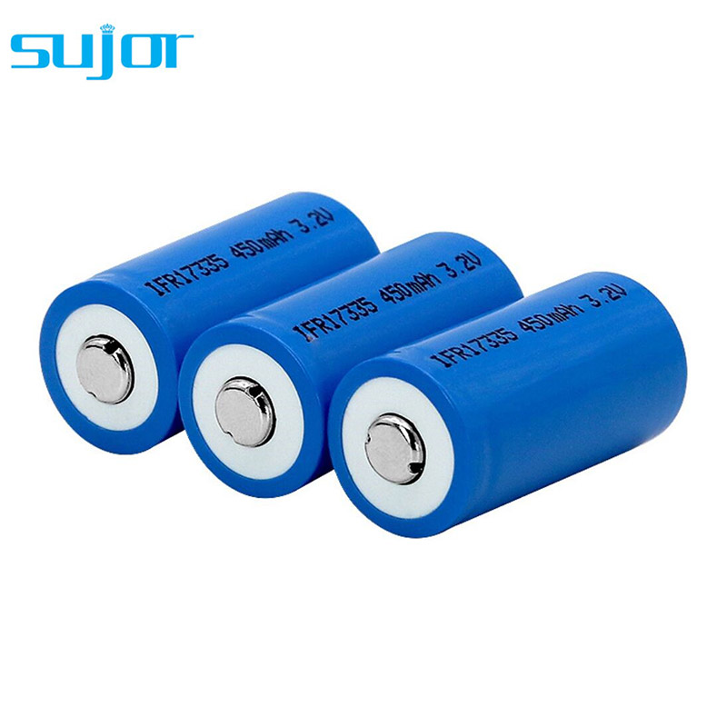 磷酸铁锂电池3.2V 17335 450mAh
