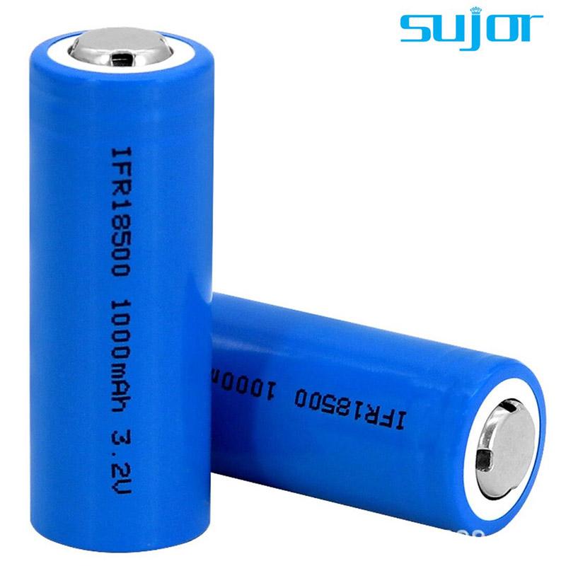 磷酸铁锂电池3.2V 18500 1000mAh