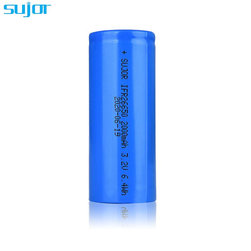 磷酸铁锂电池3.2V 26650 2000mAh