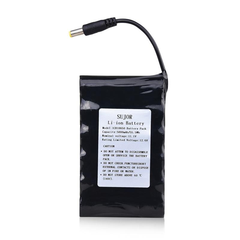 高品质锂电池组11.1V 18650 5000mAh