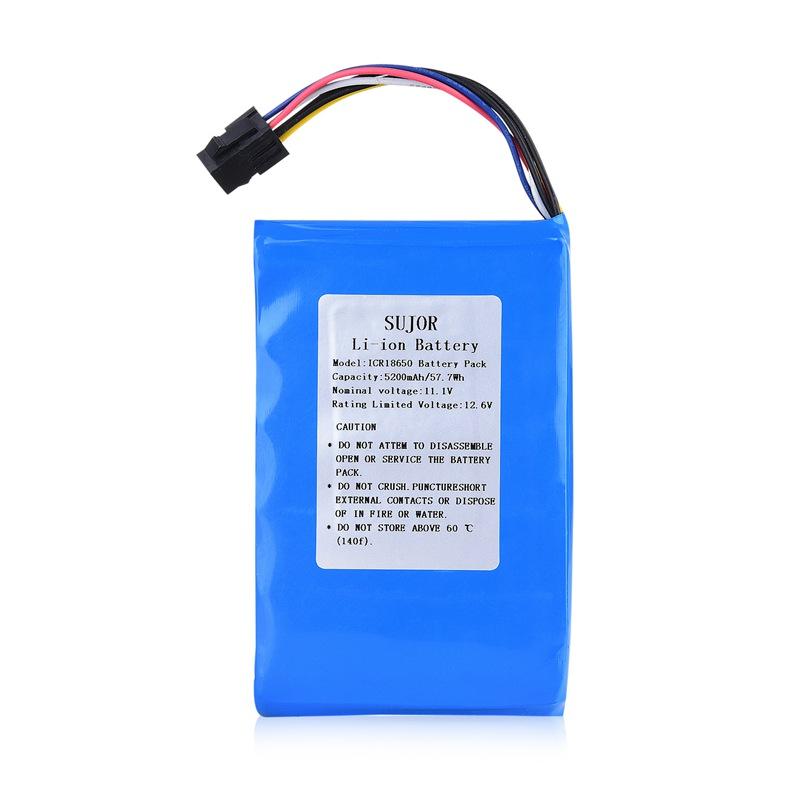 锂电池组11.1V 18650 5200mAh