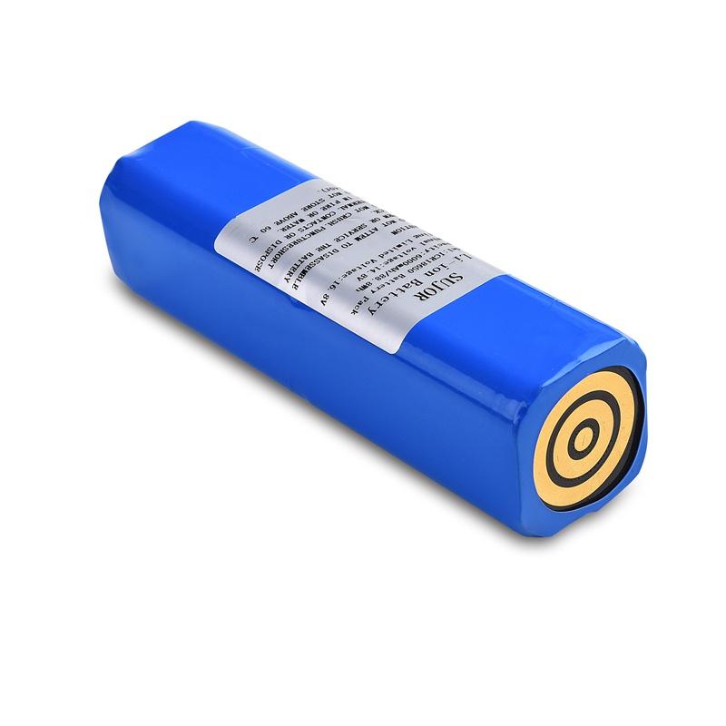 高品质锂离子电池组14.8V 18650 6000mAh 4S3P