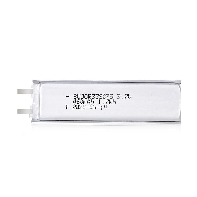 锂聚合物电池3.7V 332075 460mAh