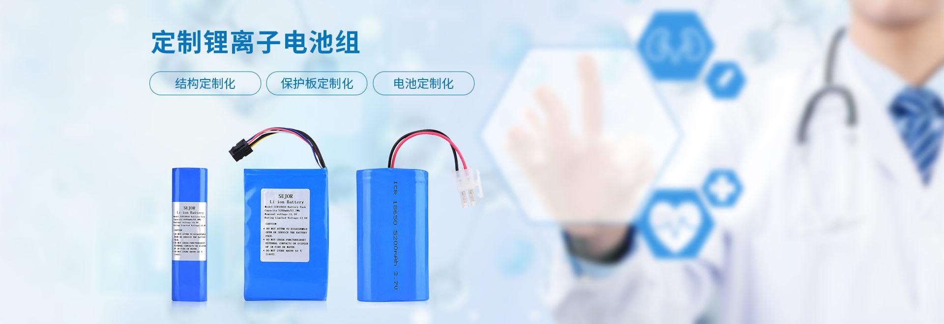 定制锂离子电池组