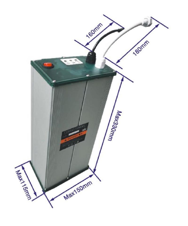 12V 30Ah磷酸铁锂电池用于太阳能路灯
