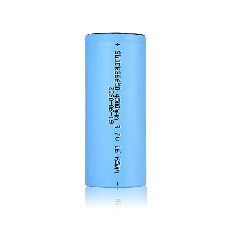 锂离子电池26650 4500mAh 3.7V