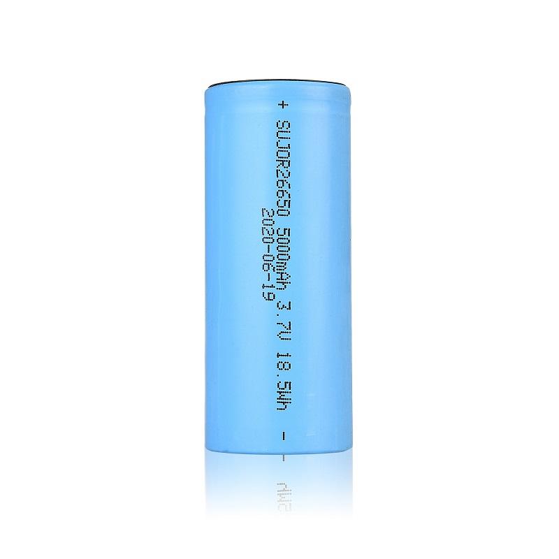 锂离子电池26650 5000mAh 3.7V