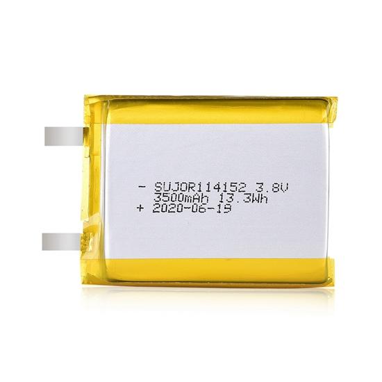 锂聚合物电池3.8V 114152 3500mAh