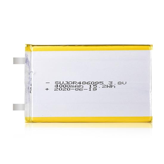 锂聚合物电池3.8V 486095 4000mAh