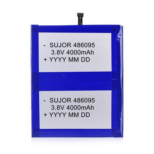 锂聚合物电池3.8V 486095 8000mAh