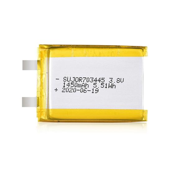 锂聚合物电池3.8V 703445 1450mAh
