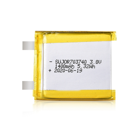 锂聚合物电池3.8V 703740 1400mAh