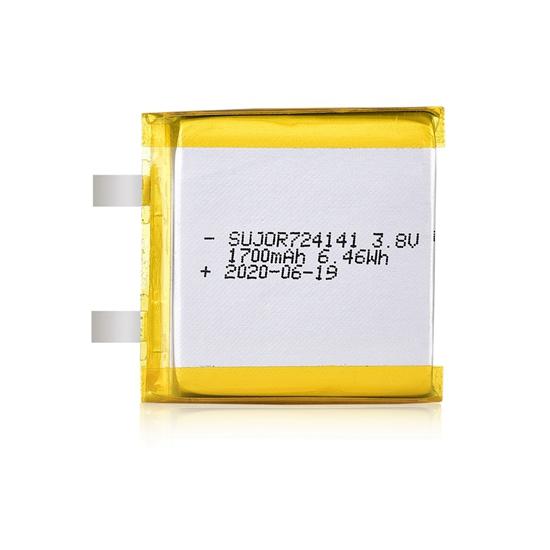 锂聚合物电池3.8V 724141 1700mAh