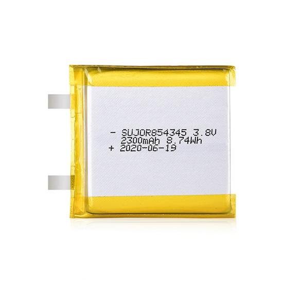 锂聚合物电池3.8V 854345 2300mAh