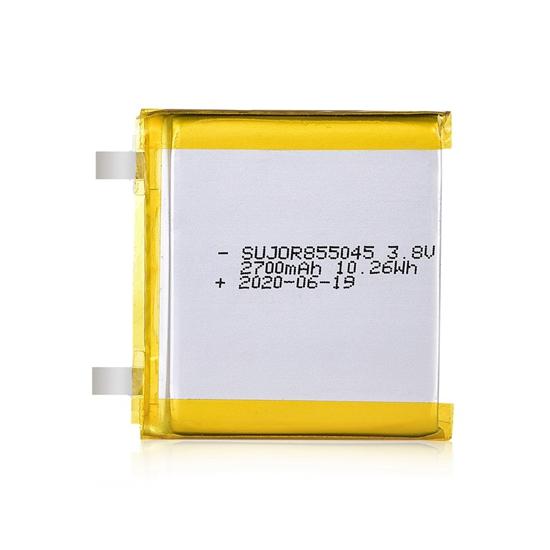 锂聚合物电池3.8V 855045 2700mAh