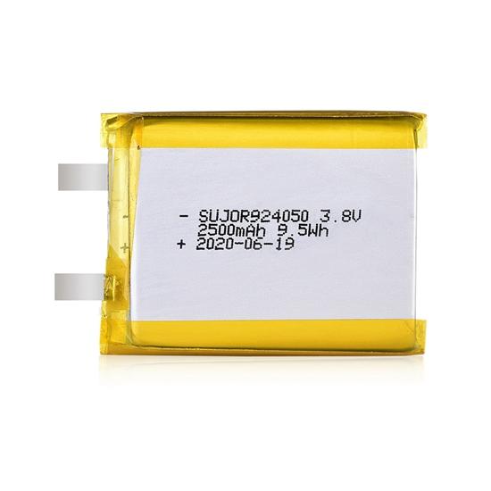 锂聚合物电池3.8V 924050 2500mAh