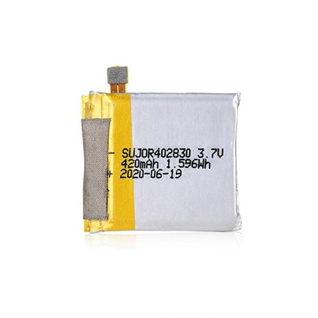 锂聚合物电池3.7V 402830 420mAh